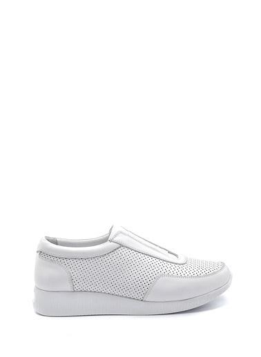 Derimod Kadın Ayakkabı(2139) Casual Beyaz
